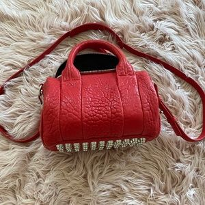 Alexander Wang Red Mini Rockie Bag